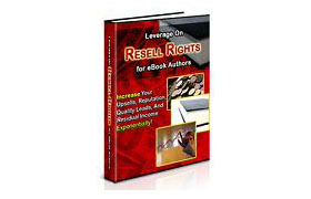 Leverage on Resell Rights
