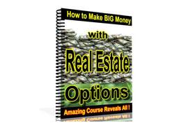 Make Big Money with Real Estate Options