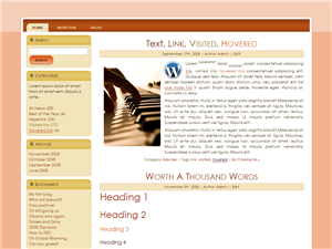 Pink Wine WP Theme