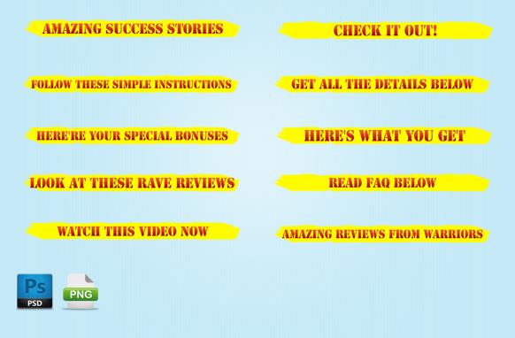 Web Promo Graphics Kit Edition 3