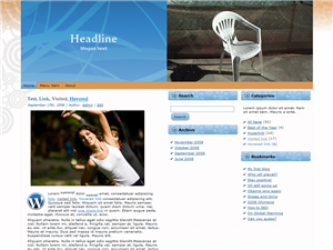 Plastic Chair WP Theme Edition 5