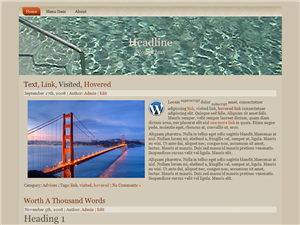 Pool Water WP Theme Edition 1