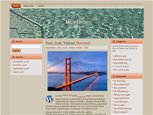 Pool Water WP Theme Edition 4