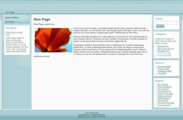 Powder HTML Template