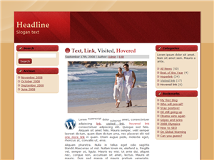 Red Fixture WP Theme
