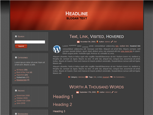 Red Gaming WP Theme