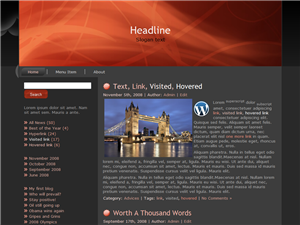 Red London WP Theme