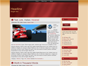 Red Media WP Theme