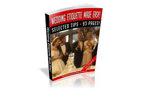 Wedding Etiquette Made Easy