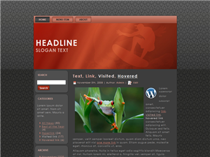 Red Wave WP Theme