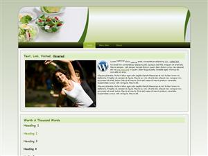 Salads WP Theme Edition 2