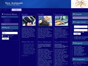 Sea Animals WP Theme