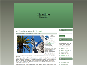Signs WP Theme Edition 1