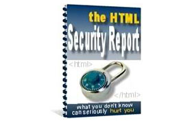 HTML Security Report