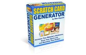 Scratch Card Generator Script