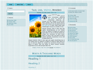 Simply Middle WP Theme