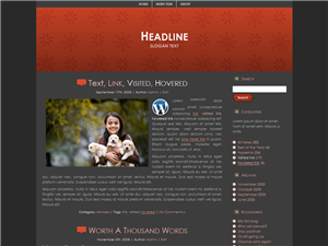 Simply Red WP Theme