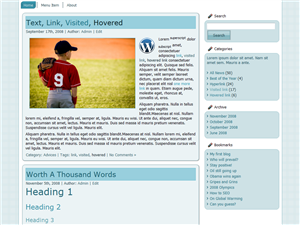 Simply Thought WP Theme