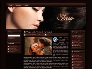 Sleep WP Theme Edition 3
