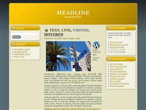 Yellow File WP Theme