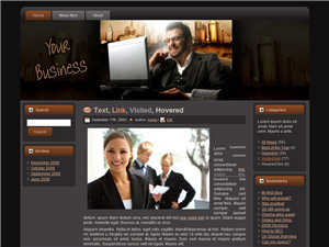 Your Business Blogger Theme Edition 2