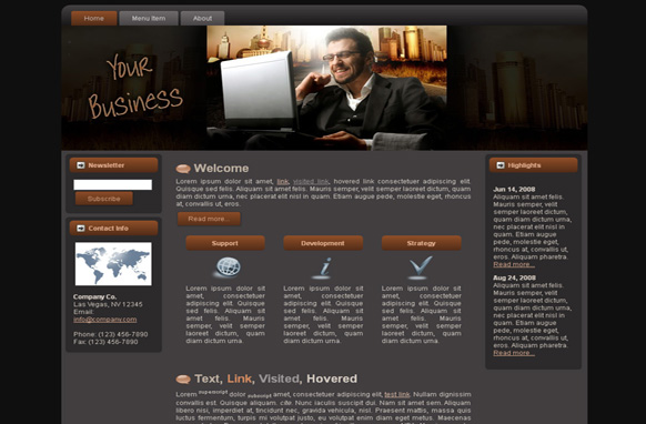 Your Business HTML Template Edition 2
