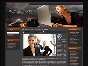 Your Business WP Theme Edition 1