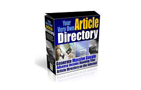 Your Very Own Article Directory