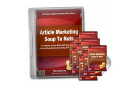 Article Marketing Soup To Nuts