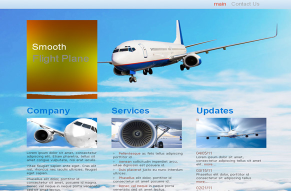 Airplane High WP Theme