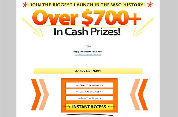 Amazing Instant Cash HTML Minisite Template