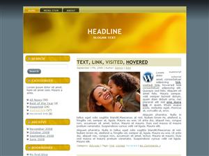Big Yellow WP Theme