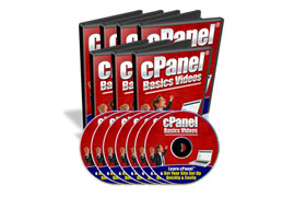 cPanel Basic Videos Series