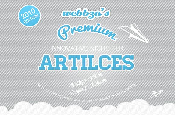 Crafts & Hobbies Articles