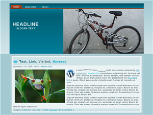 Bikely WP Theme Edition 1