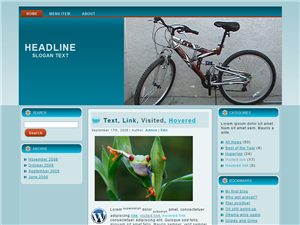 Bikely WP Theme Edition 4