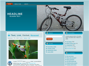 Bikely WP Theme Edition 5