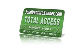 Joint Venture Seeker Total Access Membership
