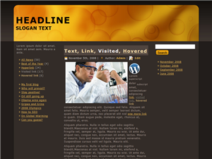 Brown Science WP Theme