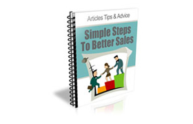 Simple Steps Better Sales