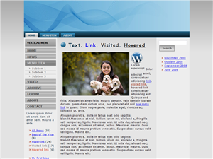 Business Blue WP Theme Edition 1