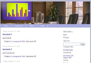 Business Joomla Template Edition 2