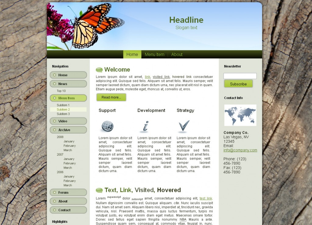 Business WP Theme Edition 3
