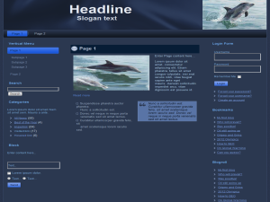 Dolphins WP Theme
