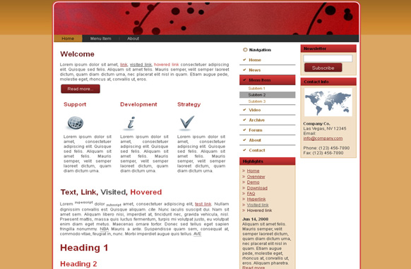 Dragon Beads HTML Template