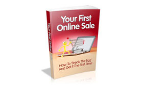 Your First Online Sale