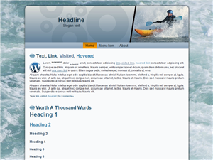 Kayaking WP Theme Edition 2