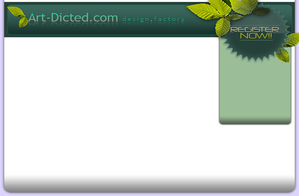 Minisite Design in HTML & PSD Edition 7