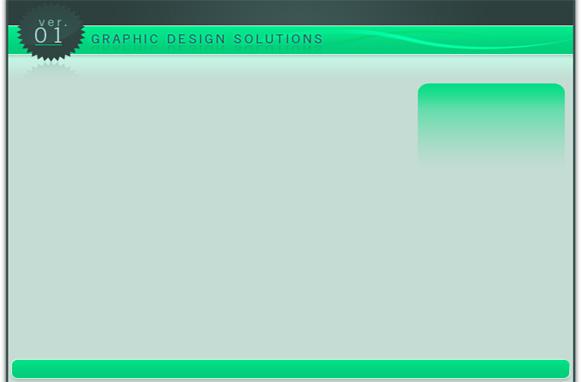 Minisite Design in HTML & PSD Edition 10