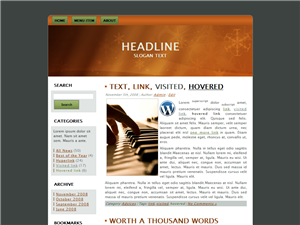 Music Lessons WP Theme